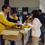 12回「文の京 駅伝・ハーフマラソン」ボランティア